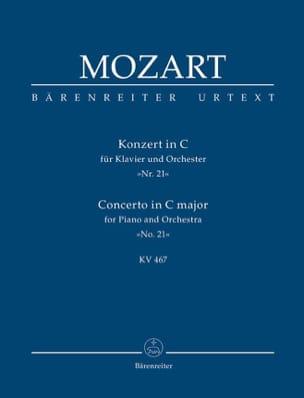 Klavierkonzert Nr 21 C-Dur KV 467 - Conducteur MOZART laflutedepan