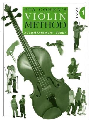 Violin Method, Volume 1 - Teacher Eta Cohen Partition laflutedepan