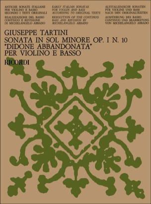Sonata Didone abbandonata op. 1 n° 10 in sol minore laflutedepan