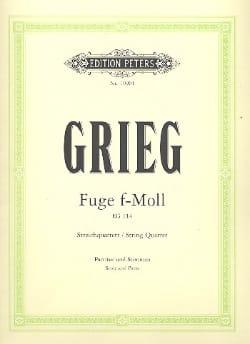 Fuge in f-moll -Streichquartett - Partitur + Stimmen laflutedepan