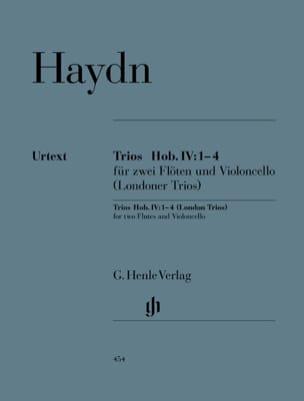 Trios Hob. IV:1-4 pour deux flûtes et violoncelle Trios de Londres laflutedepan