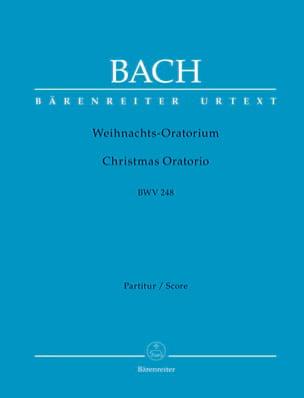 Oratorio de Noël, BWV 248 Johann Sebastian Bach Partition laflutedepan