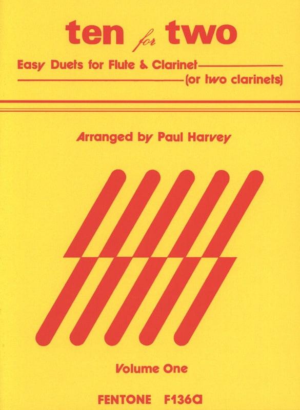 Ten for Two - Volume 1 - Paul Harvey - Partition - laflutedepan.com