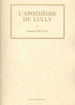 L' Apothéose de Lully -Fac simile - COUPERIN - laflutedepan.com