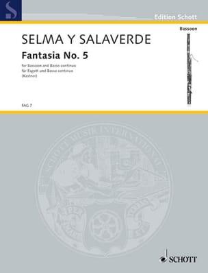 Fantasia 5 - ex D Y Salaverde Bartolomeo De Selma laflutedepan