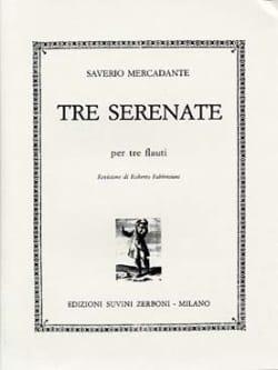 3 Serenate Saverio Mercadante Partition laflutedepan