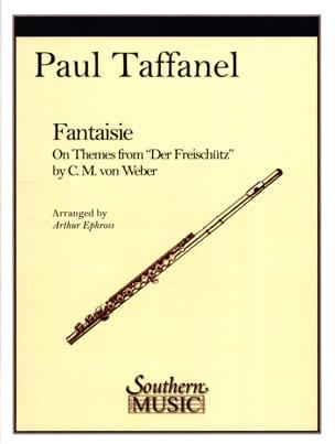 Fantaisie on themes from Der Freischütz Paul Taffanel laflutedepan