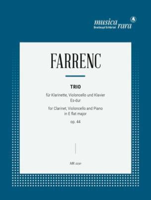 Trio op. 44 E flat major -Clarinet cello piano laflutedepan