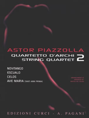 Astor Piazzolla for String Quartet Volume 2 - laflutedepan.com