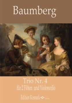 Trio n° 4 - 2 Flûtes et Violoncelle J. C. Baumberg laflutedepan