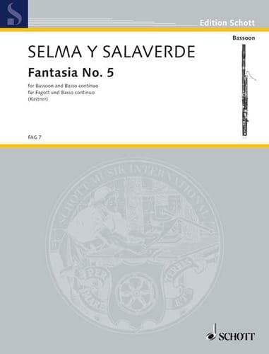 Fantasia 5 - ex D - Y Salaverde Bartolomeo De Selma - laflutedepan.com