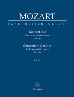 Klavierkonzert c-moll KV 491 - Partitur MOZART Partition laflutedepan