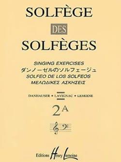 Volume 2A - A/A - Solfège des Solfèges Lavignac Partition laflutedepan