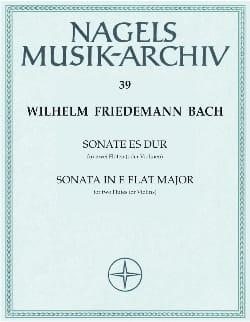 Sonate Es-Dur - 2 Flöten o. Violine laflutedepan