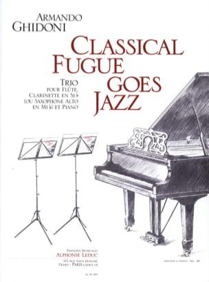 Classical Fugue Goes Jazz Armando Ghidoni Partition laflutedepan