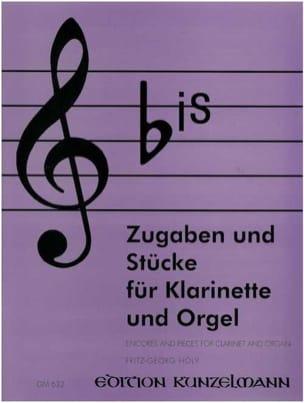 Bis - Zugaben und Stücke - Klarinette Orgel laflutedepan