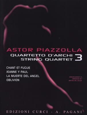 Astor Piazzolla for String Quartet Volume 3 laflutedepan