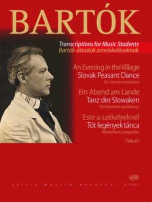 Ein Abend am Lande / Tanz der Slowaken - Klarinette laflutedepan
