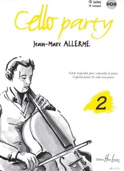 Cello Party, Volume 2 Jean-Marc Allerme Partition laflutedepan
