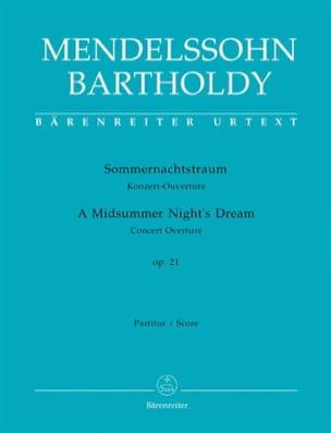 Sommernachtstraum - Ouvertüre - Partitur MENDELSSOHN laflutedepan