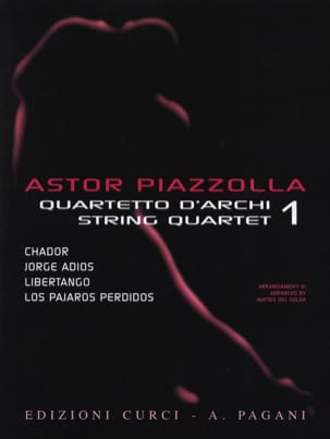 Astor Piazzolla for String Quartet Volume 1 laflutedepan