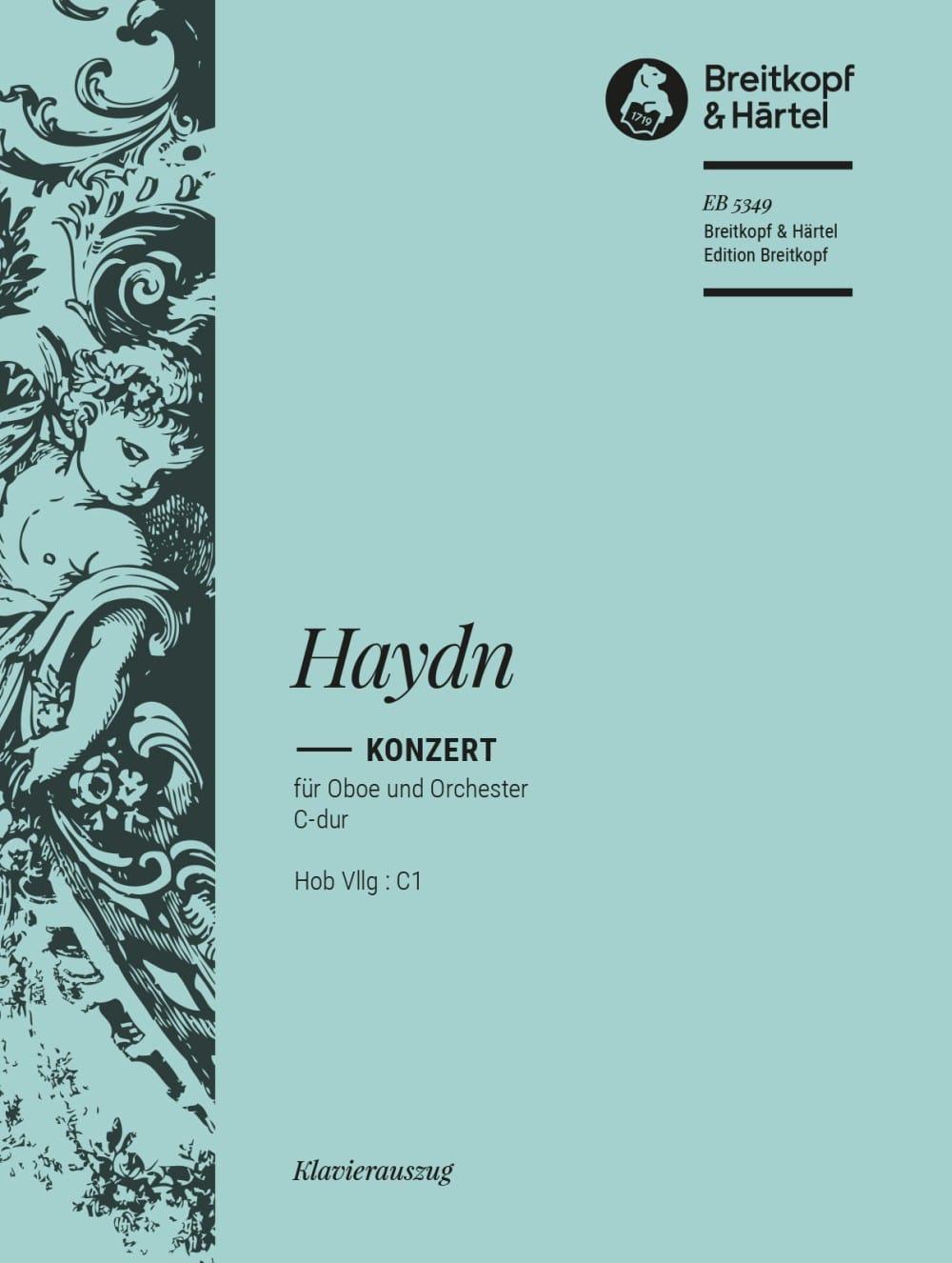 Oboenkonzert C-Dur Hob 7g : C1 - Hautbois piano - laflutedepan.com