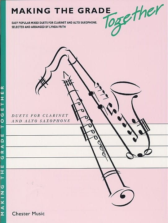 Making the grade together - Duet clarinet alto sax - laflutedepan.com