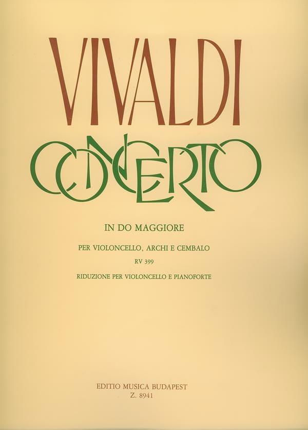 Concerto in Do Maggiore RV 399 per violoncello - laflutedepan.com