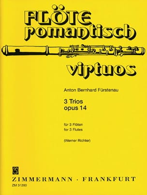 3 Trios op. 14 - 3 Flöten Anton Bernhard Fürstenau laflutedepan