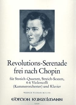 Revolutions-Serenade frei nach Chopin - Streich-Sextett - Klavier laflutedepan