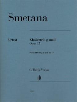 Trio, opus 15 - Violon, Violoncelle et Piano SMETANA laflutedepan