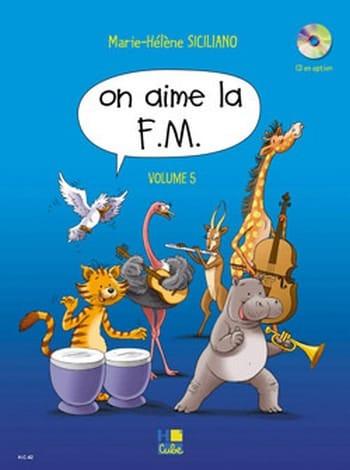 On Aime la FM - Volume 5 - SICILIANO - Partition - laflutedepan.com