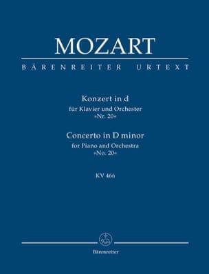 Klavierkonzert Nr. 20 d-moll KV 466 - Partitur MOZART laflutedepan