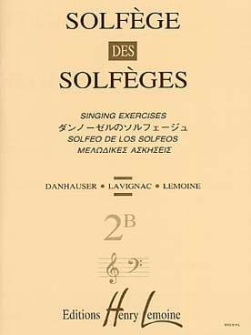 Volume 2B - S/A - Solfège des Solfèges Lavignac Partition laflutedepan