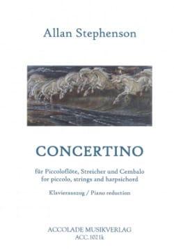 Concertino - Allan Stephenson - Partition - laflutedepan.com