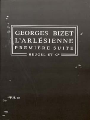 L' Arlésienne - Suite n° 1 - Conducteur - BIZET - laflutedepan.com