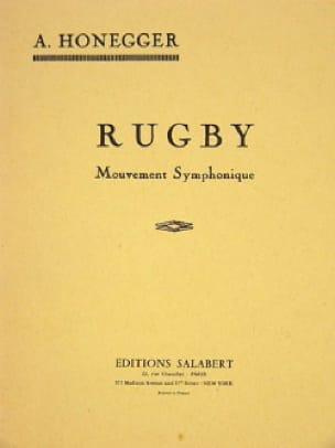 Rugby - Conducteur - HONEGGER - Partition - laflutedepan.com