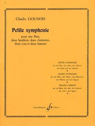 Petite Symphonie Sib M. - Nonette A Vents Parties GOUNOD laflutedepan