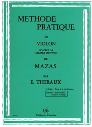 Méthode Pratique D'après Mazas Volume 2 MAZAS Partition laflutedepan