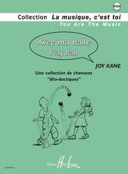 Avec ma Balle Joy Kane Partition Solfèges - laflutedepan