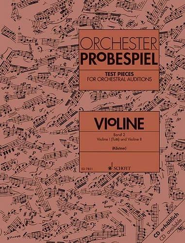 Orchester-Probespiel - Violine Bd. 2 - laflutedepan.com