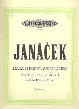 Marsch Blaukehlchen - JANACEK - Partition - laflutedepan.com