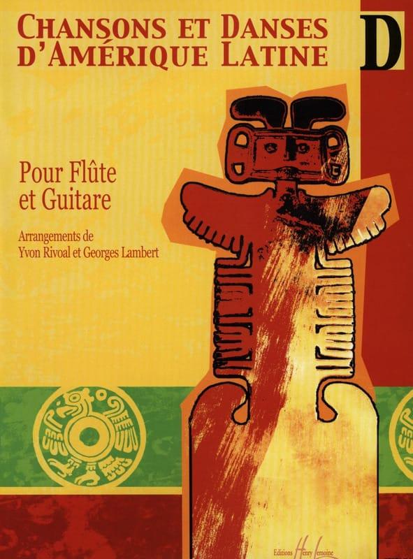 Chansons et danses d'Amérique latine - Volume D - laflutedepan.com