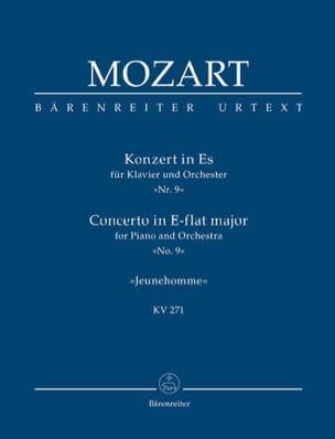 Klavierkonzert Nr. 9 Es-Dur KV 271 - Partitur MOZART laflutedepan
