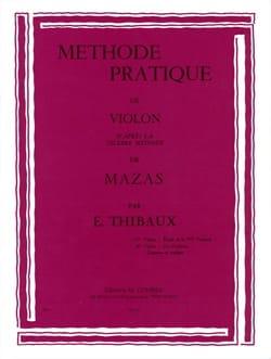 Méthode Pratique D'après Mazas Volume 1 MAZAS Partition laflutedepan