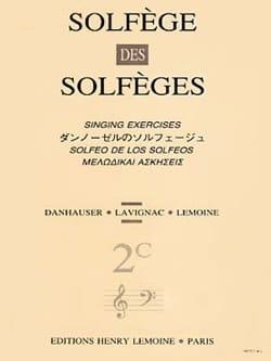 Volume 2c - S/A - Solfège des Solfèges - Lavignac - laflutedepan.com
