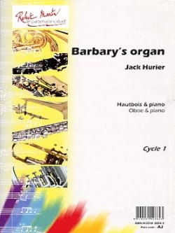 Barbary's organ Jack Hurier Partition Hautbois - laflutedepan