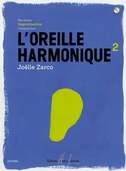 L' Oreille Harmonique Volume 2 Joelle Zarco Partition laflutedepan