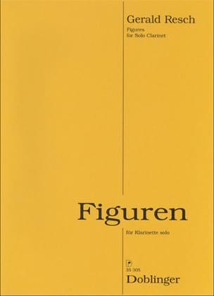 Figures - Gerald RESCH - Partition - Clarinette - laflutedepan.com