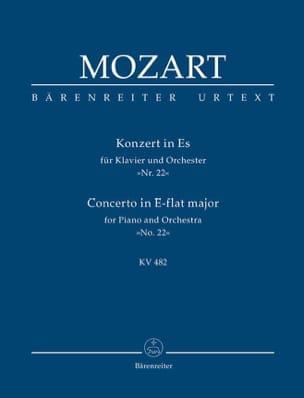 Klavierkonzert Nr. 22 Es-Dur KV 482 - Partitur MOZART laflutedepan